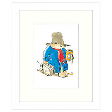 Buy Peggy Fortnum - Paddington with Marmalade Framed Print, 24 x 30cm Online at johnlewis.com