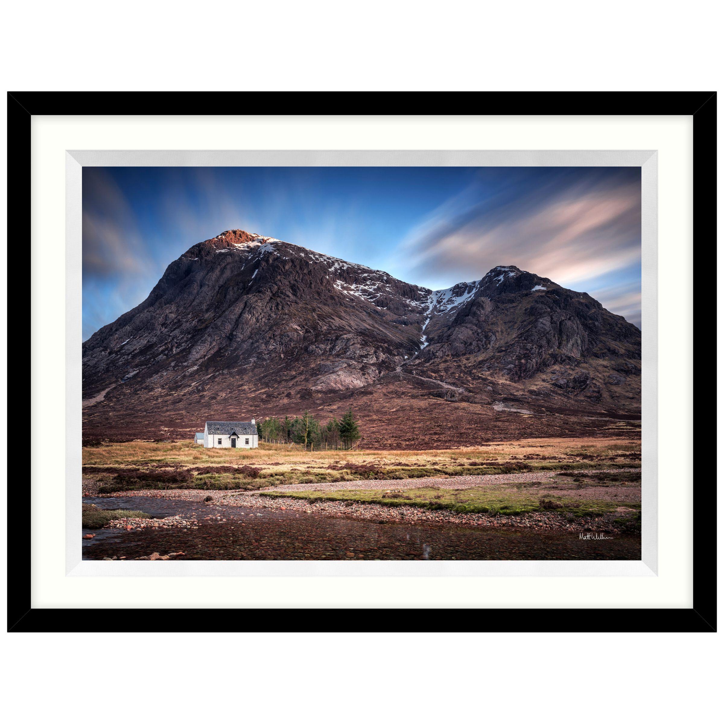 John Lewis Matthew Wilkinson - Etive Mor Cottage Framed Print, 84 x 64cm