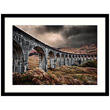Buy Matt Wilkinson - Glen Finnan Viaduct Framed Print, 84 x 64cm Online at johnlewis.com