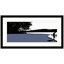 Buy Jacky Al-Samarraie - Coniston Framed Print, 84 x 44cm Online at johnlewis.com