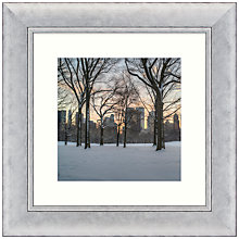 Buy John Anderson - After The Snow Storm Framed Print, 53 x 53cm Online at johnlewis.com
