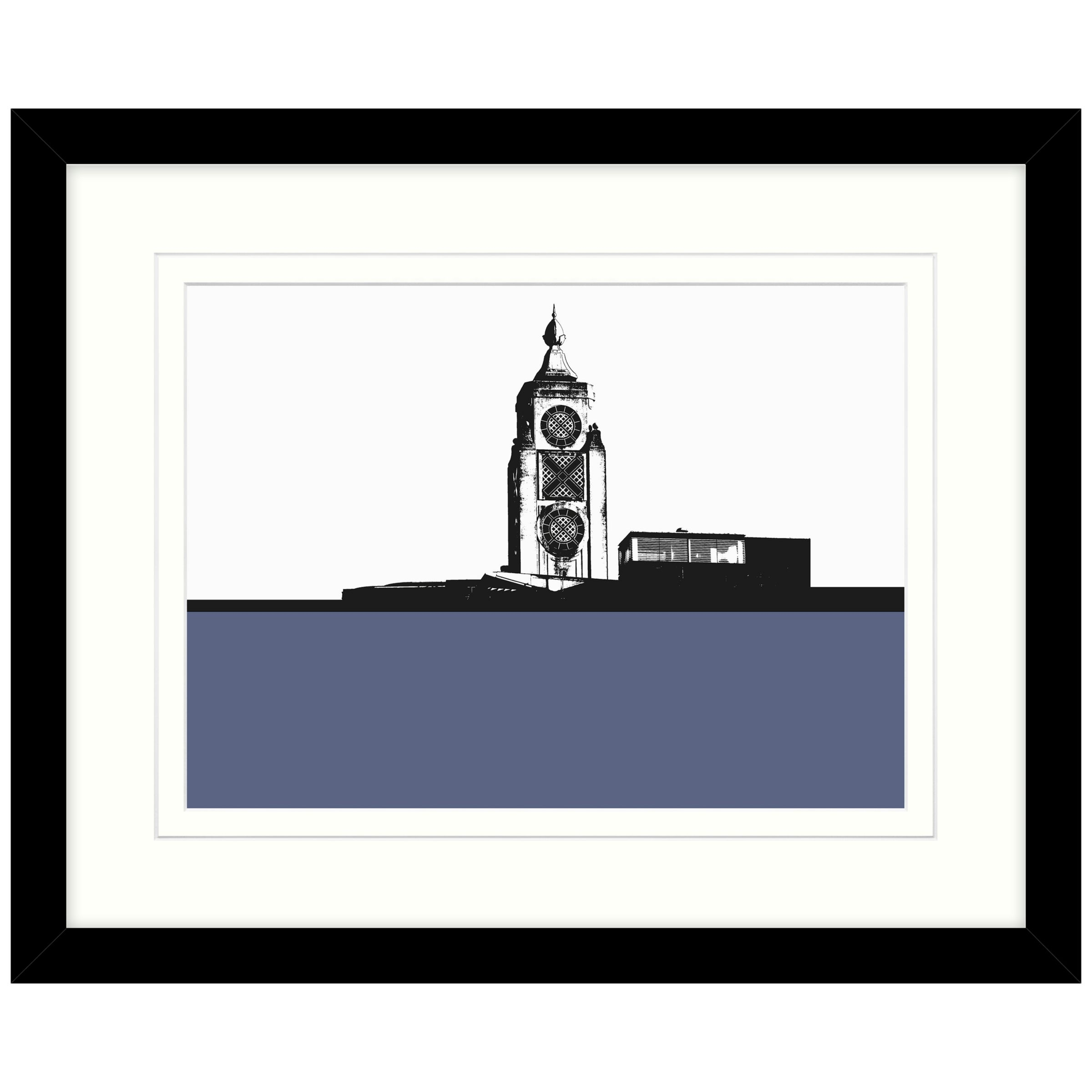 John Lewis Jacky Al-Samarraie - Oxo Tower Framed Print, 54 x 44cm