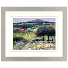 Buy Debbie Neill - At The End Of The Road Framed Print, 57 x 47cm Online at johnlewis.com