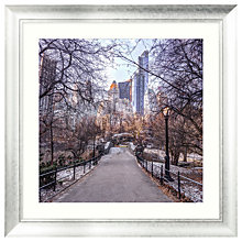 Buy Assaf Frank - A Fresh Start New York Framed Print, 90 x 90cm Online at johnlewis.com