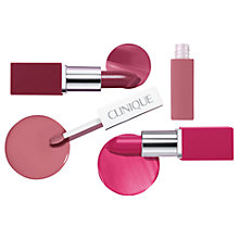 Buy Clinique Pop Lip Colour Set Online at johnlewis.com