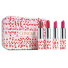 Buy Clinique Lipstick Mini Makeup Gift Set Online at johnlewis.com