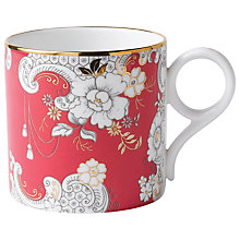 Buy Wedgwood Pink Rococo Mug, Large Online at johnlewis.com
