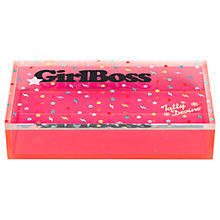 Buy Tatty Devine 'Girl Boss' Storage Box, Medium Online at johnlewis.com