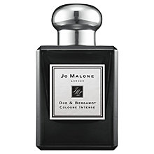 Buy Jo Malone London Oud & Bergamot Cologne Intense, 50ml Online at johnlewis.com