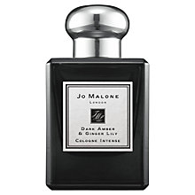Buy Jo Malone London Dark Amber & Ginger Lily Cologne Intense, 50ml Online at johnlewis.com