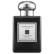 Buy Jo Malone London Velvet Rose & Oud Cologne Intense, 50ml Online at johnlewis.com