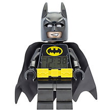 Buy LEGO 9009327 The LEGO Batman Movie Batman Clock Online at johnlewis.com