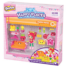 Buy Shopkins Happy Places Puppy Patio Welcome Pack Online at johnlewis.com