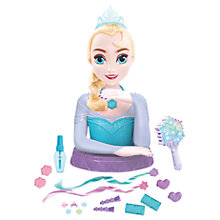 Buy Disney Princess Elsa Deluxe Styling Kit Online at johnlewis.com
