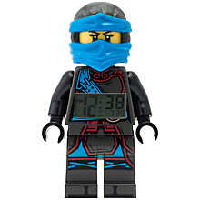 Buy LEGO Ninjago 9009280 Time Twins Nya Minifigure Clock Online at johnlewis.com