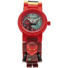 Buy LEGO Ninjago 8020899 Kai Minifigure Buildable Watch Online at johnlewis.com