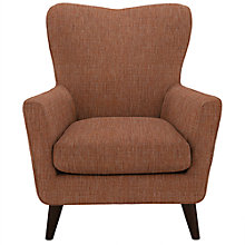 Buy John Lewis Thomas Armchair, Dark Leg, Blake Clementine Online at johnlewis.com