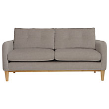 Buy Content By Terence Conran Ashwell Small 2 Seater Sofa, Oak Leg, Oak Silver Online at johnlewis.com