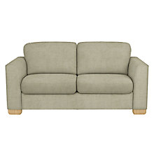 Buy John Lewis Cooper Large 3 Seater Sofa, Light Leg, Elena Mocha Online at johnlewis.com