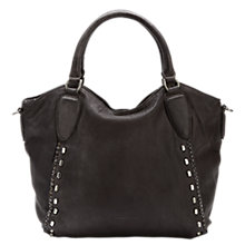 Buy Liebeskind Hamamatsu Leather Tote Bag, Nairobi Black Online at johnlewis.com