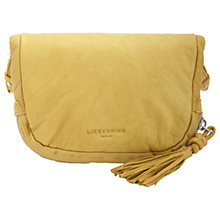 Buy Liebeskind Suzuka F7 Leather Across Body Bag, Lime Green Online at johnlewis.com