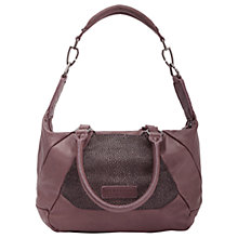 Buy Liebeskind Bailundo Leather Shoulder Bag, Massai Plump Online at johnlewis.com