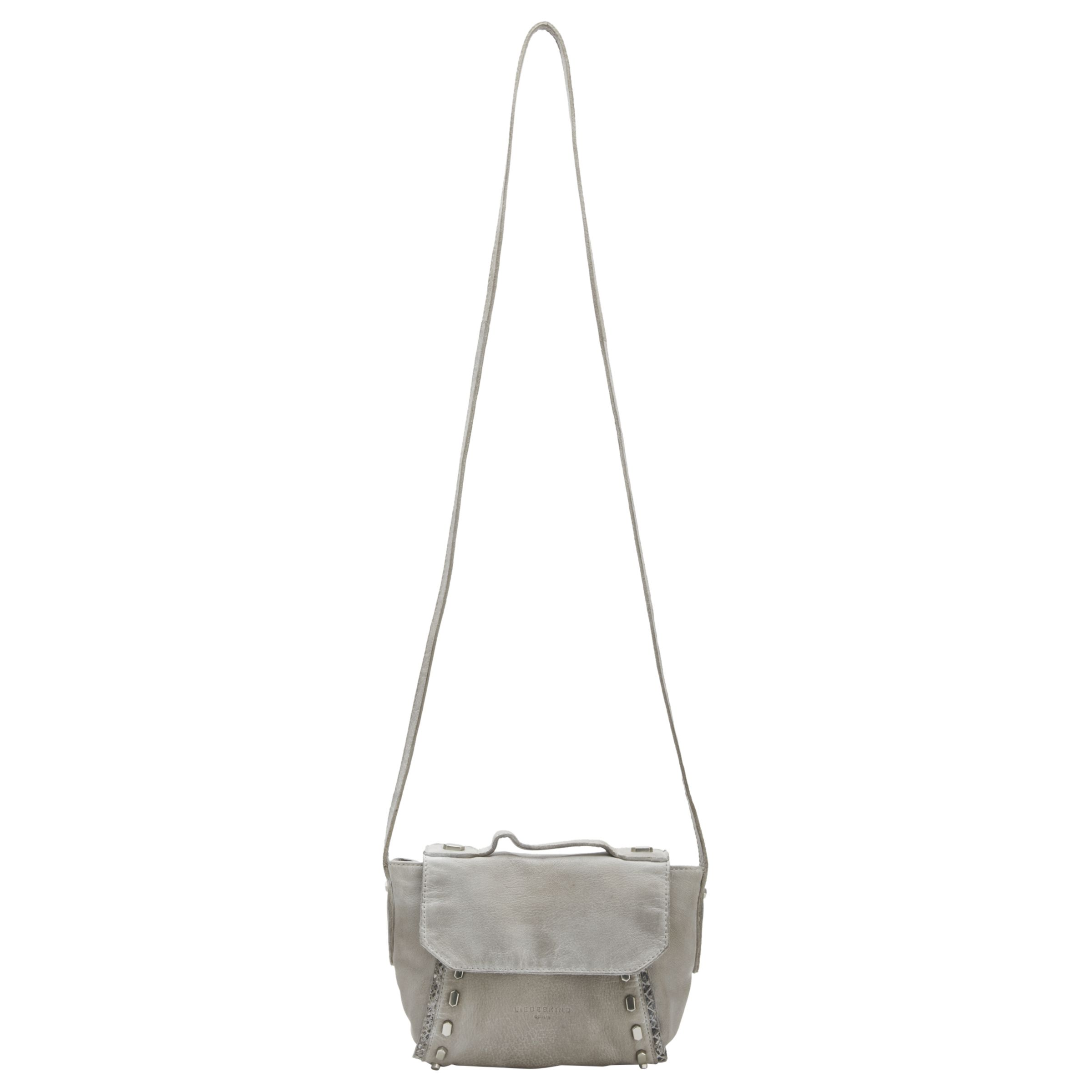Liebeskind Liebeskind Saitama Leather Across Body Bag, Hyena Grey