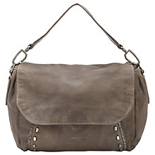 Buy Liebeskind Fujimi Leather Shoulder Bag, Rhino Brown Online at johnlewis.com