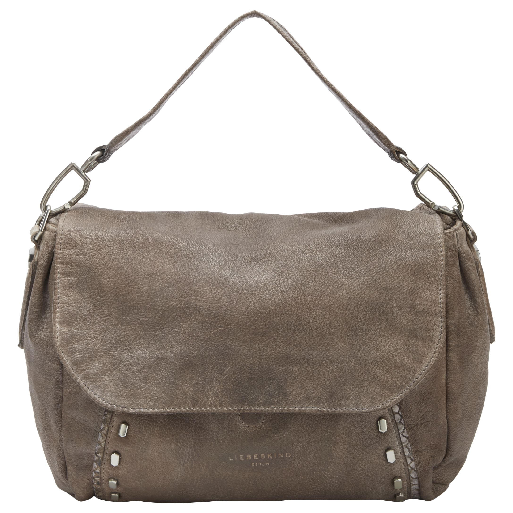 Liebeskind Liebeskind Fujimi Leather Shoulder Bag, Rhino Brown