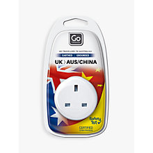 Buy Go Travel UK-AUS Adaptor Online at johnlewis.com