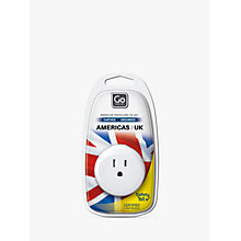 Buy Go Travel US-UK Adaptor Online at johnlewis.com