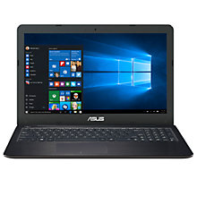 "Buy ASUS VivoBook X556UA Laptop, Intel Core i7, 8GB RAM, 1TB, 15.6"" Full HD, Black Online at johnlewis.com"