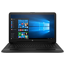 "Buy HP 17-x103na Laptop, Intel Core i5, 8GB RAM, 1TB, AMD Radeon R5, 17.3"" Full HD, Black Online at johnlewis.com"