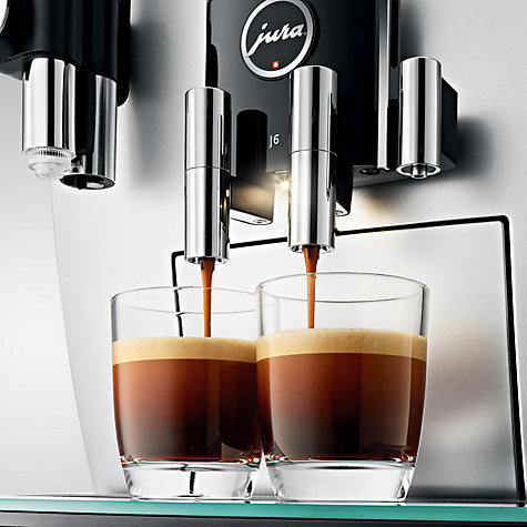 Buy Jura J6 Bean To Cup Coffee Machine John Lewis