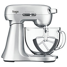 Buy Sage by Heston Blumenthal Scrape Mixer, Brushed Metal Online at johnlewis.com