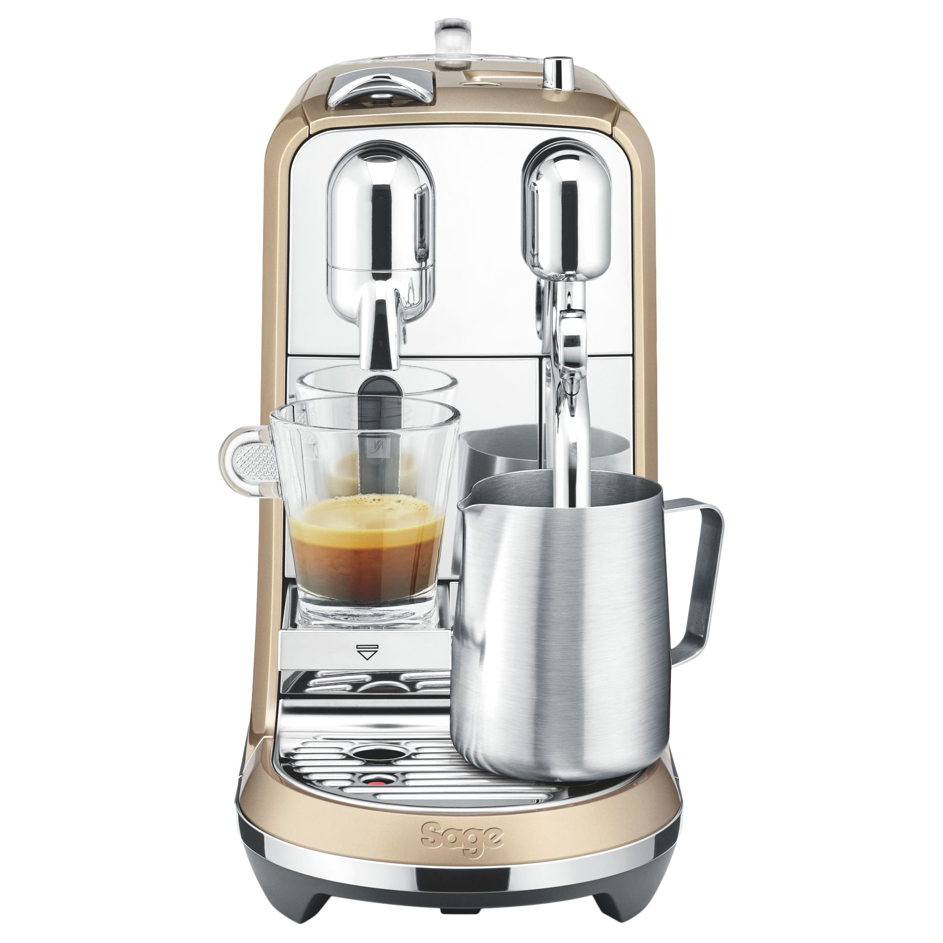 Sage by Heston Blumenthal Nespresso Creatista Coffee Machine by Sage