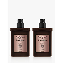 Buy Acqua di Parma Colonia Oud Eau de Cologne Concentrée Travel Refill Spray, 2 x 30ml Online at johnlewis.com