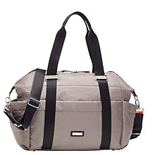 Buy Storksak Sandy Changing Bag, Taupe Online at johnlewis.com