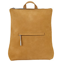 Buy Jigsaw Stevie Zip Backpack Online at johnlewis.com