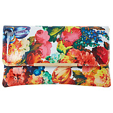 Buy Dune Bower Clutch Bag, Multi Online at johnlewis.com