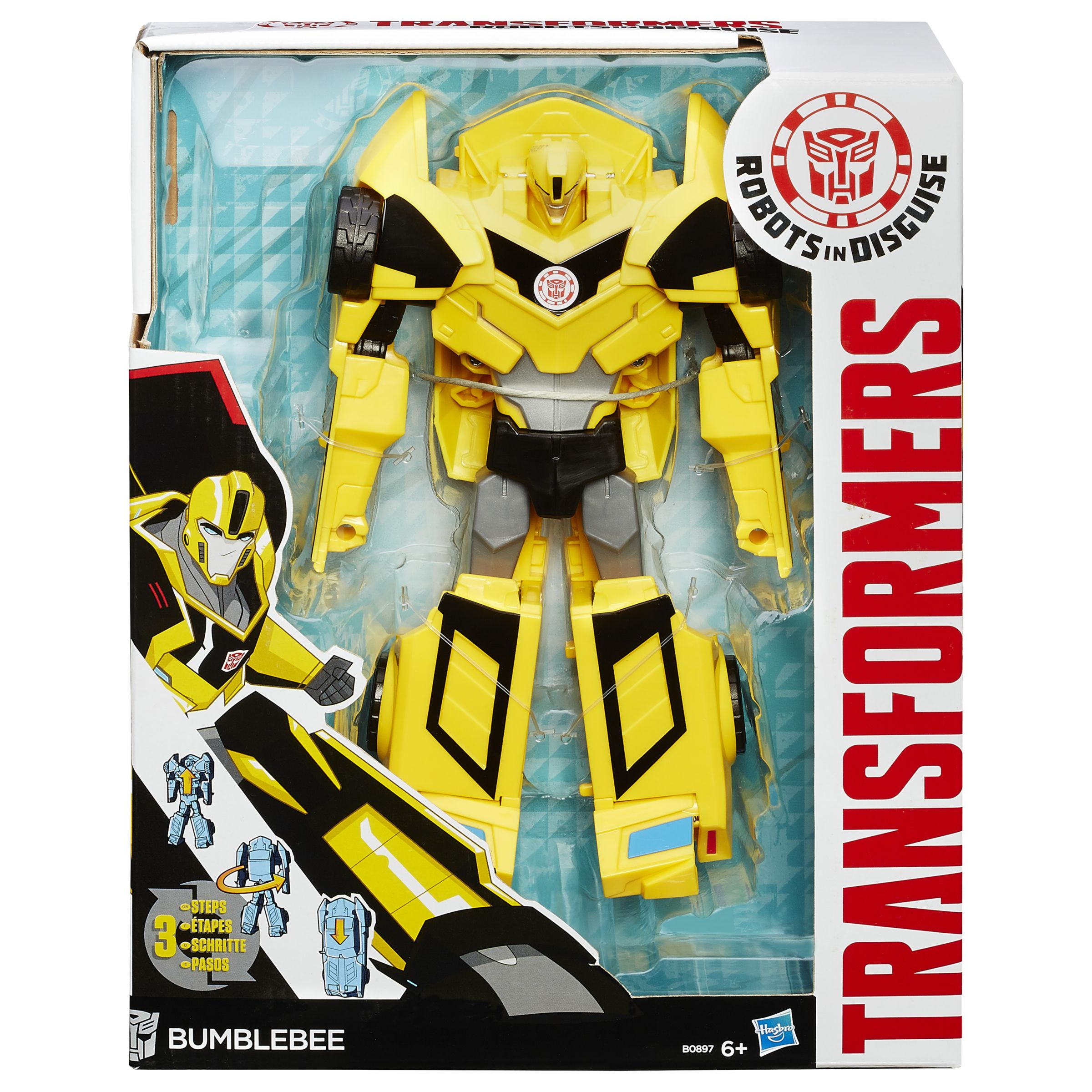 Transformers Transformers Robots in Disguise 3 Step Bumble Action Figure