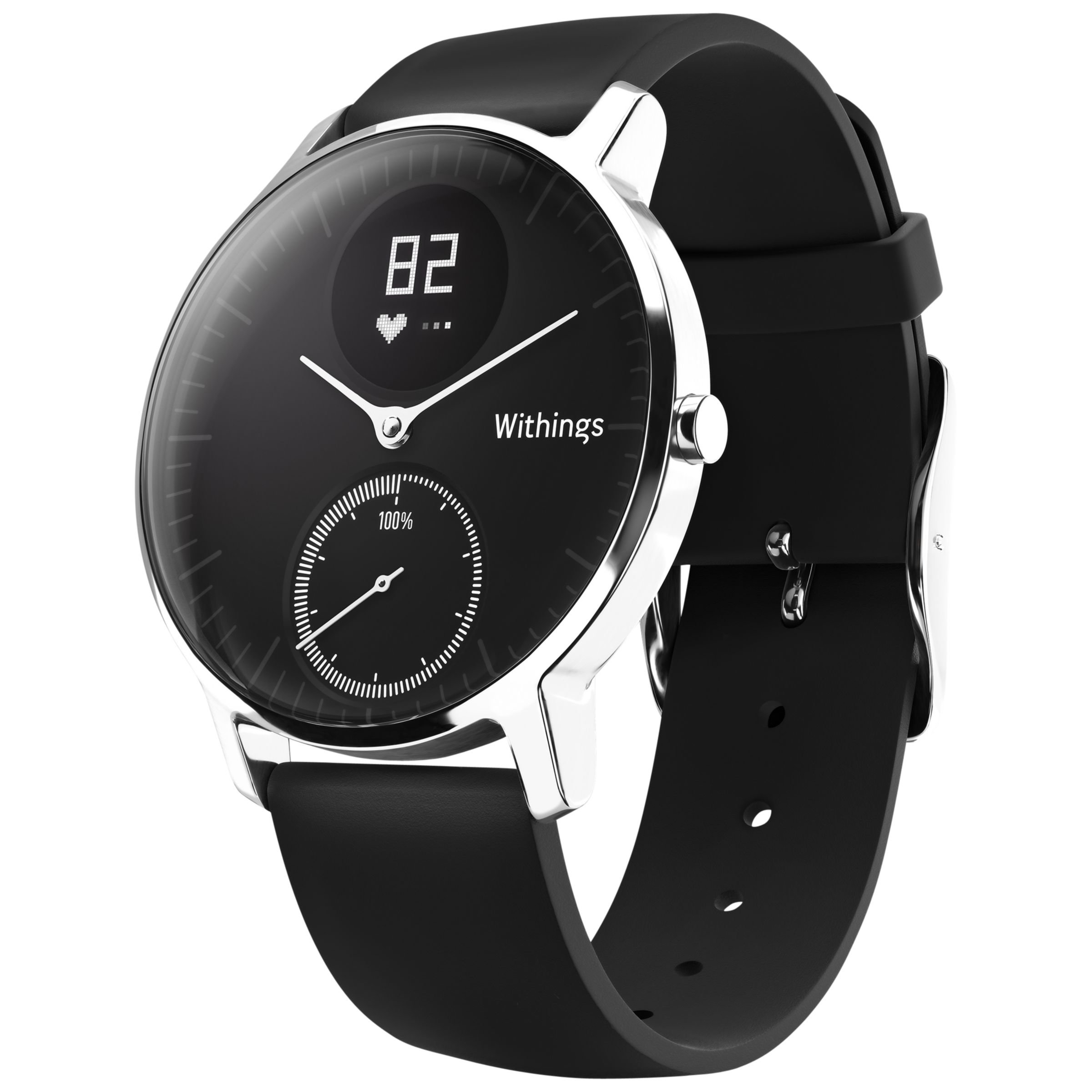 Withings Withings Steel HR Activity Tracking Watch, 36mm