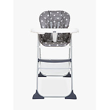 Buy Joie Baby Mimzy Snacker Highchair, Twinkle Linen Online at johnlewis.com