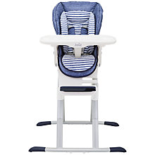 Buy Joie Baby Mimzy 360 Highchair, Denim Online at johnlewis.com
