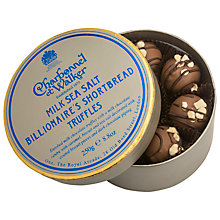 Buy Charbonnel et Walker Milk Seasalt Billionaire's Shortbread Truffles, Box of 16, 250g Online at johnlewis.com