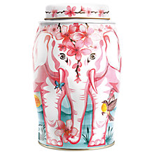 Buy Williamson Teas Cherry Blossom Tea Caddy & 40 Black Tea Bags, 100g Online at johnlewis.com