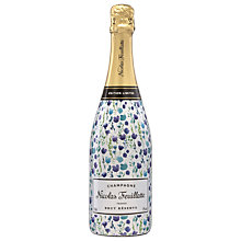 Buy Nicolas Feuillatte 'Spring Floral' Brut Reserve, Limited Edition, 75cl Online at johnlewis.com