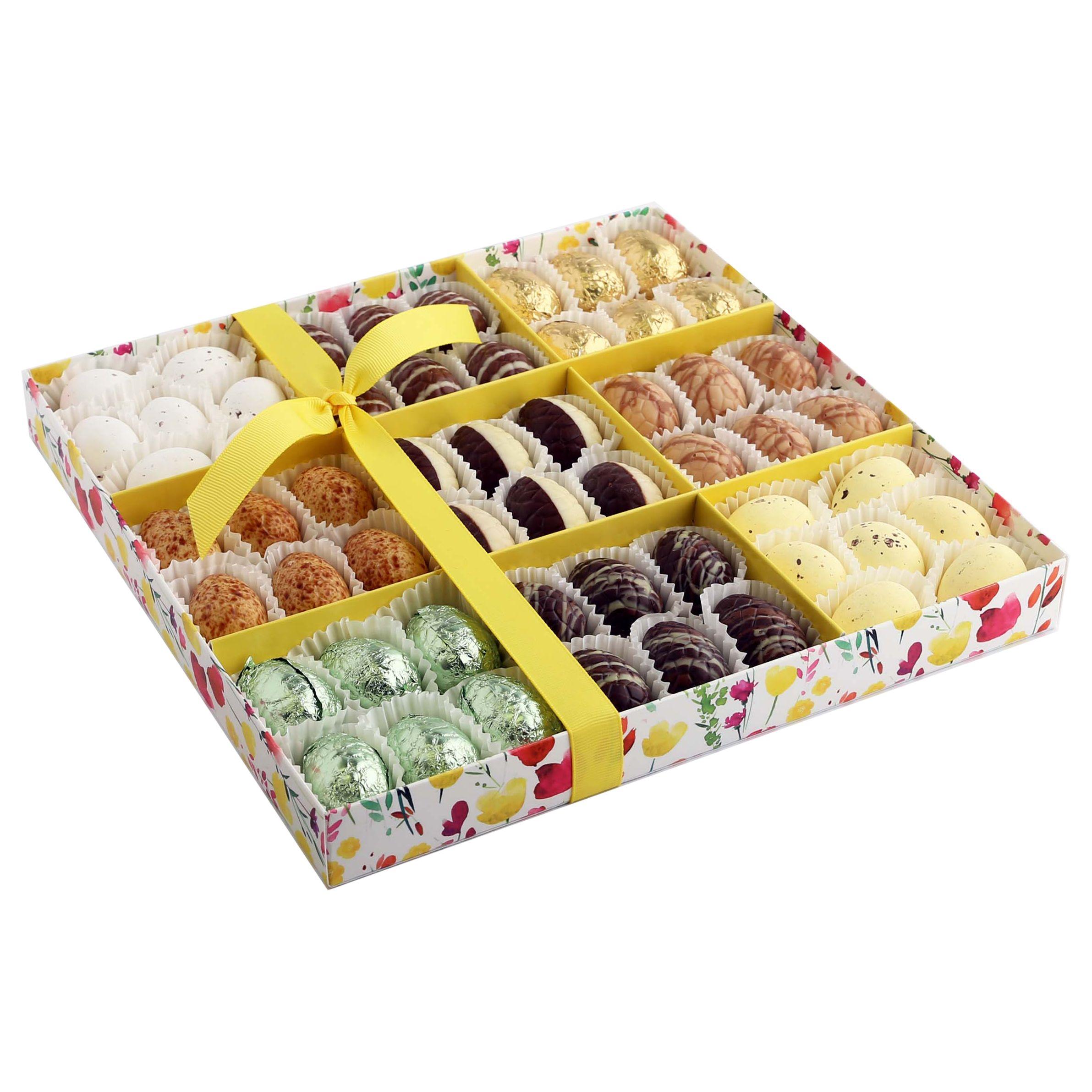 Unbranded Milk Chocolate & Praline Filled Eggs, Box of 9, 680g