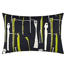 Buy Lucienne Day Spectators Cushion, Navy Online at johnlewis.com