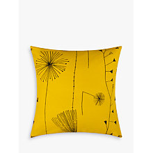 Buy Lucienne Day Dandelion Clocks Cushion, Mustard Online at johnlewis.com